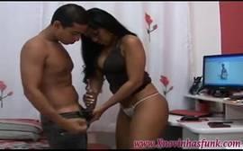 Luana Alves e Joyce Oliveira no porno