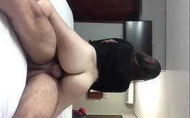 Novinha fazendo porno sexo acrobático