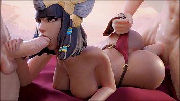 Sexo mobile dupla penetração no video de hentai