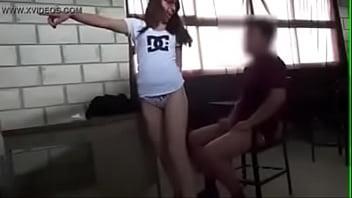 Sexo no colegio na aula em manaus