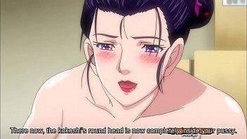 Hentai novinha inocente é assediada e fodida no chão da sala