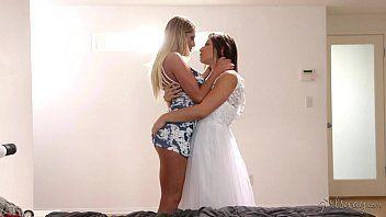 Xxx vídeos lésbicas noivas sexo oral perfeito
