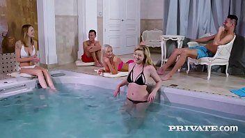 Gp1 sexo na piscina com colegas da faculade