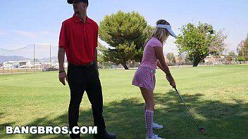 Beeg com gata levando vara do professor de golfe