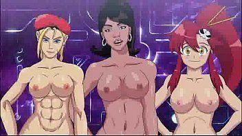 Desenhos de meninas devassas fazendo muito sexo em animes porno é Hentai