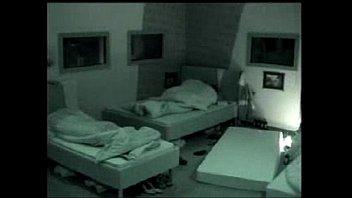Sexo Big Brother no escurinho em cima da cama